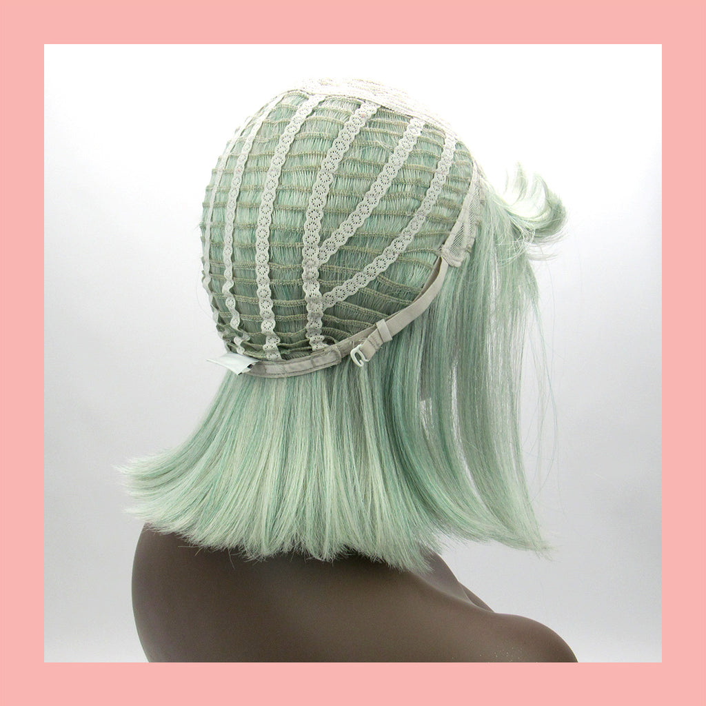 Willow Wig in Celadon (Wig Cap)