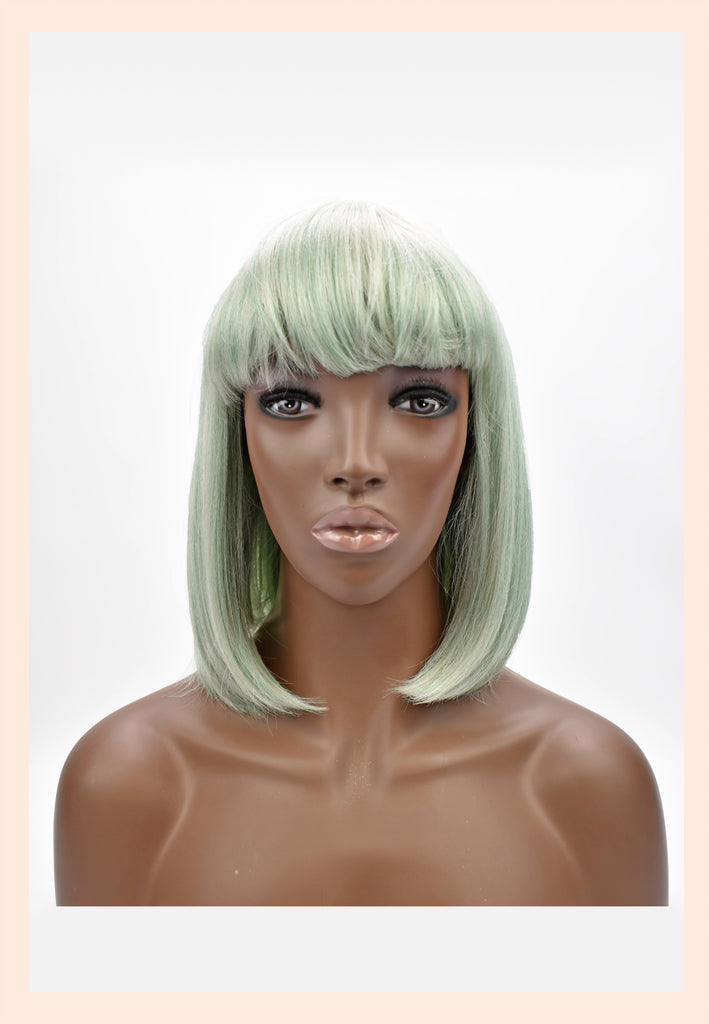 Willow Wig in Celadon (Front)