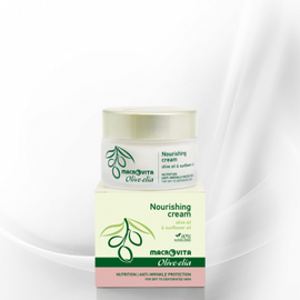 Ansiktskrem for tørr og dehydrert hud/nourishing cream