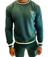 Load image into Gallery viewer, Tranzfit-Varsity Collection/ Men/ Forest Green/Navy