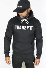 Load image into Gallery viewer, Tranzfit-Name Sake Hoodie (Black)