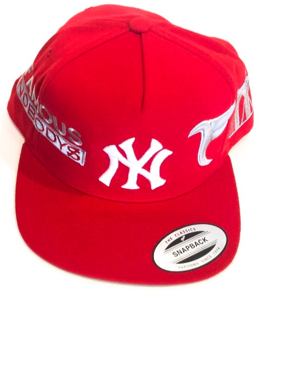 Tranzfit-Red Snap Back Cap