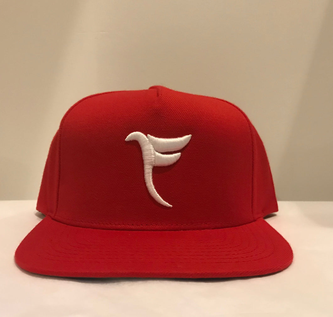 Tranzfit-Red Logo Snap Back Cap
