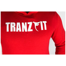 Load image into Gallery viewer, Tranzfit-Red Name Sake Hooded Set
