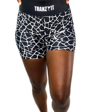 Load image into Gallery viewer, Tranzfit- Ombre Black/White Blend Shorts
