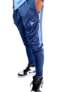 Tranzfit- Long Sleeve Jogger sets(navy/carolina)