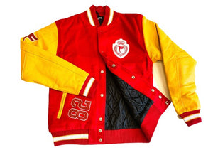 Tranzfit- Varsity 82 Jackets (Red & Gold)