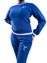 Load image into Gallery viewer, Tranzfit-Varsity Collection set (woman) Navy