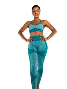 TRANZFIT-F20 YOGA LEGGINGS ONLY (WINTER GREEN)