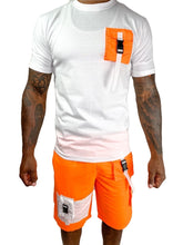 Load image into Gallery viewer, Tranzfit- Cargo Sport Shorts (orange)
