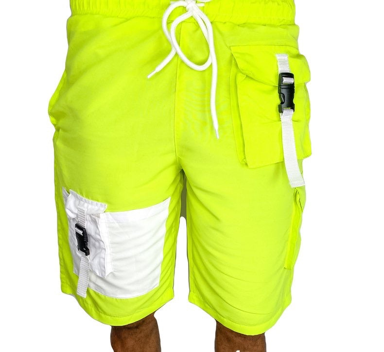 Tranzfit- Cargo Sport Shorts (Green)