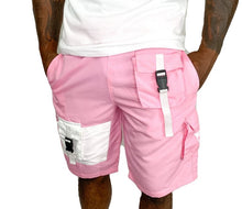 Load image into Gallery viewer, Tranzfit- Cargo Sport Shorts (Salmon)