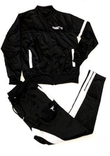 Load image into Gallery viewer, Tranzfit-Skunk Stripe Jogger Set