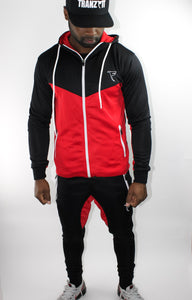 Tranzfit-Retrograde Hoodie (Blk/Red/White)