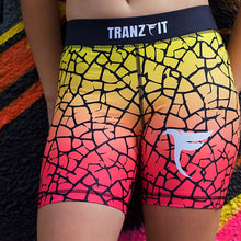 Load image into Gallery viewer, Tranzfit- Ombre Pink/Yellow Blend Shorts