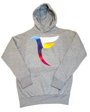 Load image into Gallery viewer, Tranzfit- Kaleidoscope Logo Hoodie (Gray)