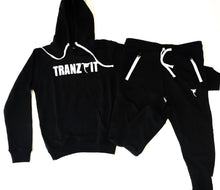 Load image into Gallery viewer, Tranzfit-Raised Logo SweatPants (Black)