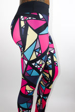 Load image into Gallery viewer, Tranzfit- Stained Glass Leggings