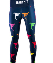 Load image into Gallery viewer, Tranzfit Over Print Leggings (Navy)