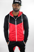 Load image into Gallery viewer, Tranzfit-Retrograde Hoodie (Blk/Red/White)