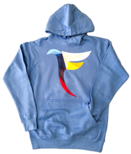 Load image into Gallery viewer, Tranzfit- Kaleidoscope Hoodle (Carolina Blue)