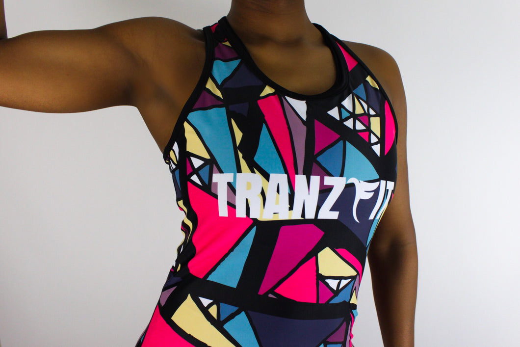 Tranzfit- Stained Glass Tanktop