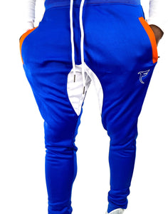 Retrograde 2.0 (Royal blue/White/Orange)