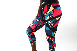 Tranzfit- Stained Glass Leggings