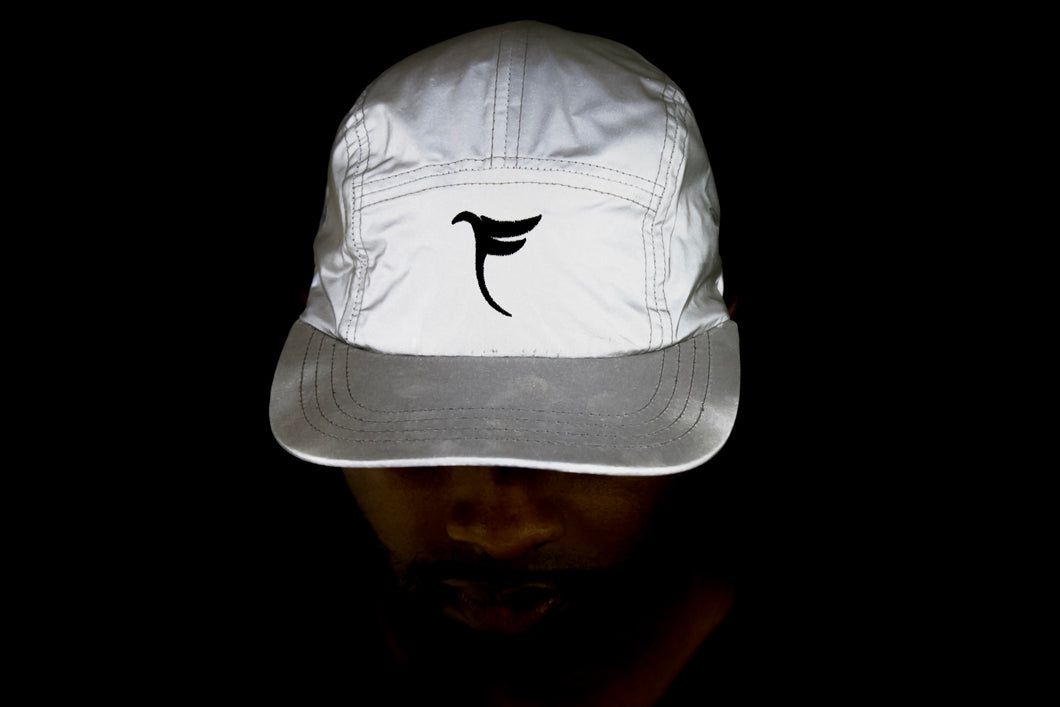 "Tranzfit-""SEE Me"" Panel Cap (Reflector/Grey)"