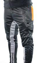 Load image into Gallery viewer, Tranzfit-Quad stripe Jogger Set (Grey,Orange)