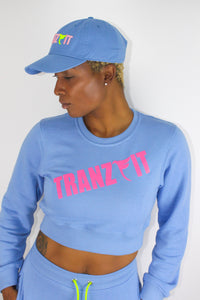 Tranzfit-  Highlighter Sweats/Baby Blue