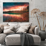 The Calm Water Sunset, Colorado Art Print - Thought Creation