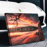 Grand Tetons Park Mountain Sunset Canvas - Thought Creation