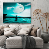 The Moon Canvas Set - - Thought Creation