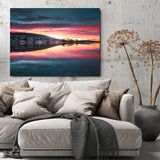Yellowstone National Park Sunset Canvas - Thought Creation