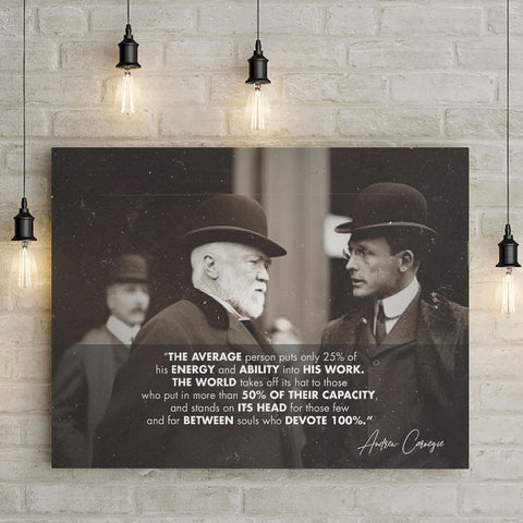 Andrew Carnegie Quote - Thought Creation