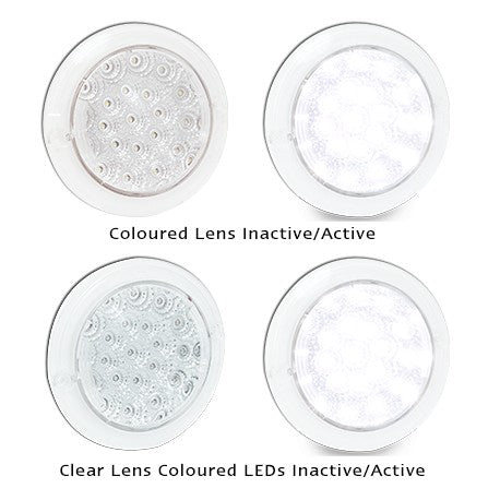 102 Series LED Round White Reverse Light