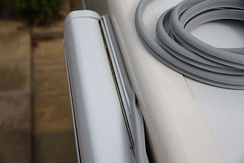 Fiamma Caravan Awning Rain Guard S - 1.6cm Gap - Sold Per Metre IN STOCK - Fineline Fabrications