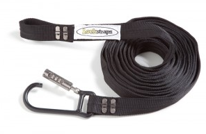 Lockstraps 301 24ft Extension Locking Security Strap Motor bike, Camping, Tie down - Fineline Fabrications