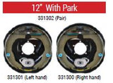 "ALKO Electric Backing Plate 12"" Left or Right Hand with Park"