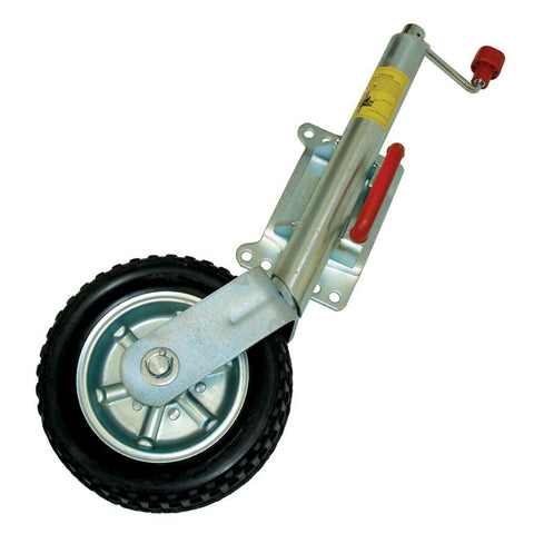 "AL-KO Premium 10"" Heavy Duty Swivel Jockey Wheel"