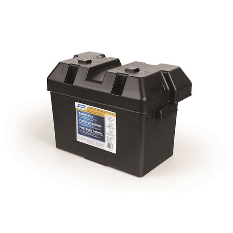 Camco Battery Box - Large Comes with Lid and Strap - Fineline Fabrications