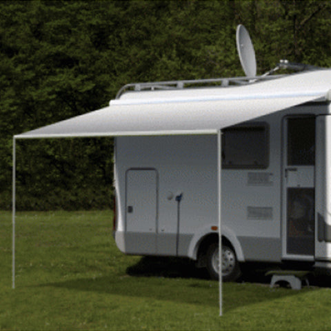 Carefree Freedom Silver Shale Fade 12V Box Awning - Fineline Fabrications
