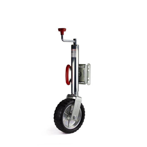 "10"" Jockey Wheel Swing Up, Load Capacity 1000LBS - Fineline Fabrications"