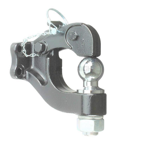 Pintle Hook with Towball - Fineline Fabrications