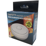 SAFETY PHOTOELECTRIC Smoke Alarm With Hush Features