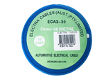 3mm x 30m BLUE AUTO WIRE 10 Amp - ECA3-30 BLU