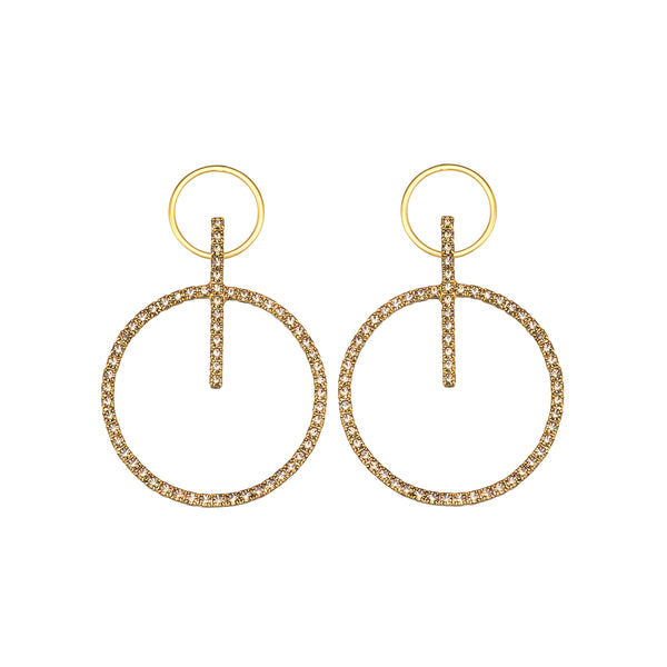 GABRIELLA Hoop Earrings
