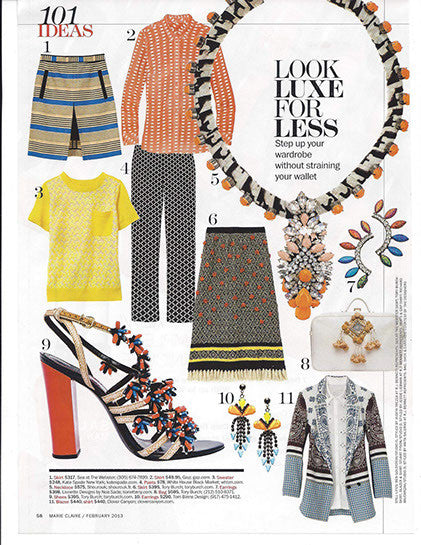 Byron Bay Earrings in 'Marie Claire' Magazine