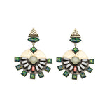 Dillen Green Earrings
